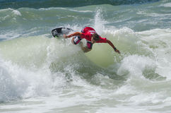 Hugo Santos in the Exile Skim Norte Stock Image