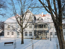 Hugo Scheu Manor House, Lithuania Stock Image