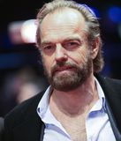 Hugo Weaving poses on the red carpet Royalty Free Stock Photography