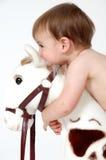 hugs младенца стоковая фотография rf