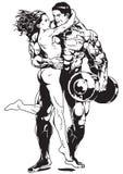 hugs иллюстрация вектора