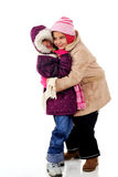 Hugs da neve Foto de Stock Royalty Free