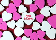 Hugs and Kisses Stock Photos