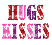 Hugs And Kisses Royalty Free Stock Images