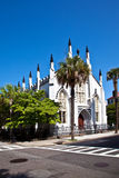 Huguenot Church in Charleston Stock Images