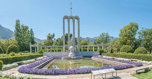 Huguenot monument in Franschoek, South Africa Royalty Free Stock Photos