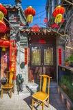 Huguosi ulica w Xicheng Gromadzki Pekin Chiny Na 01 03 2017 Fotografia Royalty Free