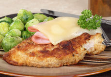 Huhn-Abendessen stockfoto