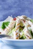 Huhn-Caesar-Salat Stockfoto