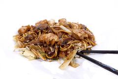 Huhn Chow Mein Stockfotografie