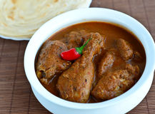 Huhn-Curry Lizenzfreies Stockfoto