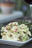 Huhn-Curry-Salat stockfoto