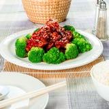 Huhn des indischen Sesams (auch genannt Samenhuhn Chineseindischen sesams) Lizenzfreies Stockbild