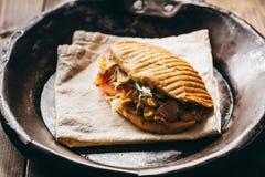 Huhn Doner Kebab Lizenzfreie Stockfotos