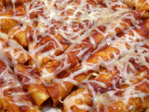 Huhn-Enchiladas Stockfoto