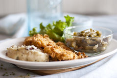 Huhn Fried Chicken Stockfotografie