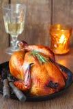 Huhn gebraten lizenzfreie stockfotos