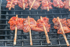 Huhn grillte Stockbild