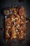 Huhn mussaman Curry Stockbild