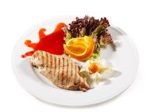 Huhn-Steak lizenzfreie stockbilder