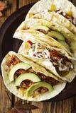 Huhn Tacos Lizenzfreie Stockbilder