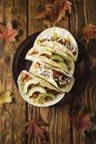 Huhn Tacos Lizenzfreie Stockfotos