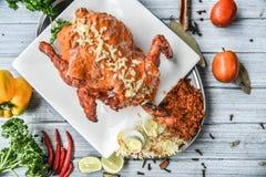 Huhn tandoori Stockbild