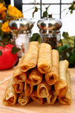 Huhn Taquitos Stockbild
