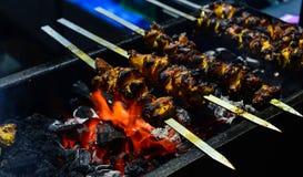 Huhn Tikka Kebab Stockfoto