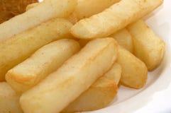 Huhn und Chips Lizenzfreie Stockfotos