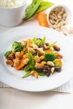 Huhn und Gemüse Stockbilder
