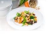 Huhn und Gemüse Lizenzfreie Stockbilder
