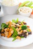 Huhn und Gemüse Stockfoto