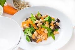 Huhn und Gemüse Stockfotos