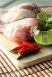 Huhn und Gemüse Lizenzfreie Stockfotos