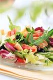 Huhn- und Gemüsesalat Lizenzfreie Stockbilder