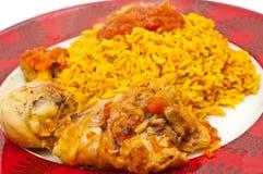 Huhn und Reis Lizenzfreies Stockfoto