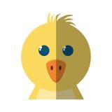 Huhn wenig lokalisierte Ikone der Farm der Tiere Stockfotos