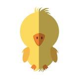 Huhn wenig lokalisierte Ikone der Farm der Tiere Stockfotografie