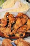 Huhnzeit Stockfoto