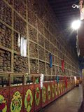 Hui hai vid berget, Sajia tempel Arkivbilder