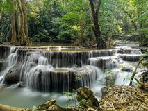 Hui Mae Kamin Waterfall photographie stock