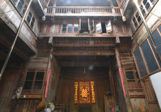 Hui style architecture. This Hui style architeture is built in the Ming or qing dynasty Stock Photography