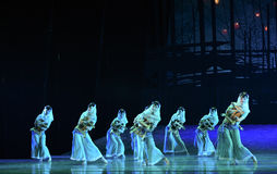 """Huian folk-Dance drama """"The Dream of Maritime Silk Road"""". Dance drama """"The Dream of Maritime Silk Road"""" centers on the plot of two generations of royalty free stock photography"""