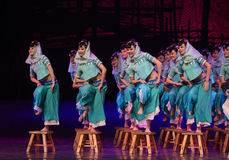 """Huian folk-Dance drama """"The Dream of Maritime Silk Road"""". Dance drama """"The Dream of Maritime Silk Road"""" centers on the plot of two generations of stock images"""