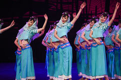 """Huian women -Dance drama """"The Dream of Maritime Silk Road"""". Dance drama """"The Dream of Maritime Silk Road"""" centers on the plot of two generations of a Stock Photography"""