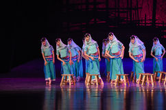 """Huian women -Dance drama """"The Dream of Maritime Silk Road"""". Dance drama """"The Dream of Maritime Silk Road"""" centers on the plot of two generations of a Royalty Free Stock Photo"""