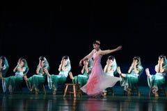 "They are Huian women and xunpu women-Dance drama ""The Dream of Maritime Silk Road"". Dance drama ""The Dream of Maritime Silk Road"" centers on the stock photography"