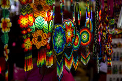 Huichol art Royalty Free Stock Images
