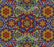 Free Huichol Art Seamless Pattern Stock Photos - 132799123